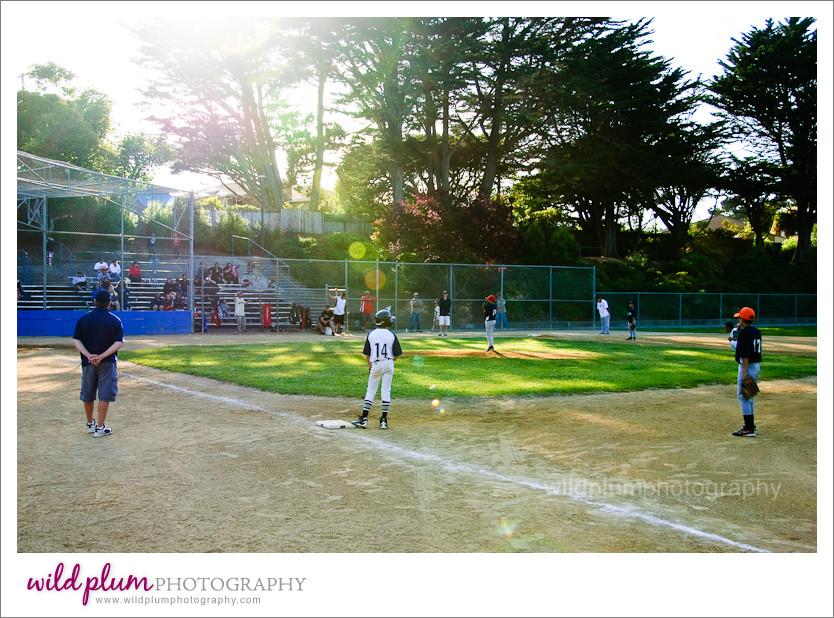 Baseball field at Buri Buri Park