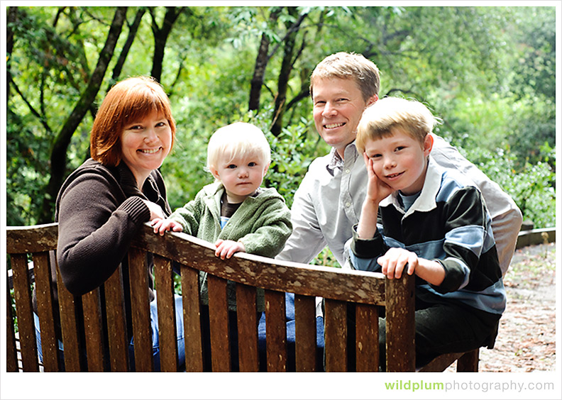 Family Portrait - Wild Plum Photography