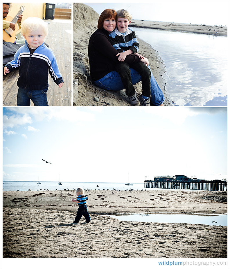 Beach Family Portraits - Wild Plum Photography